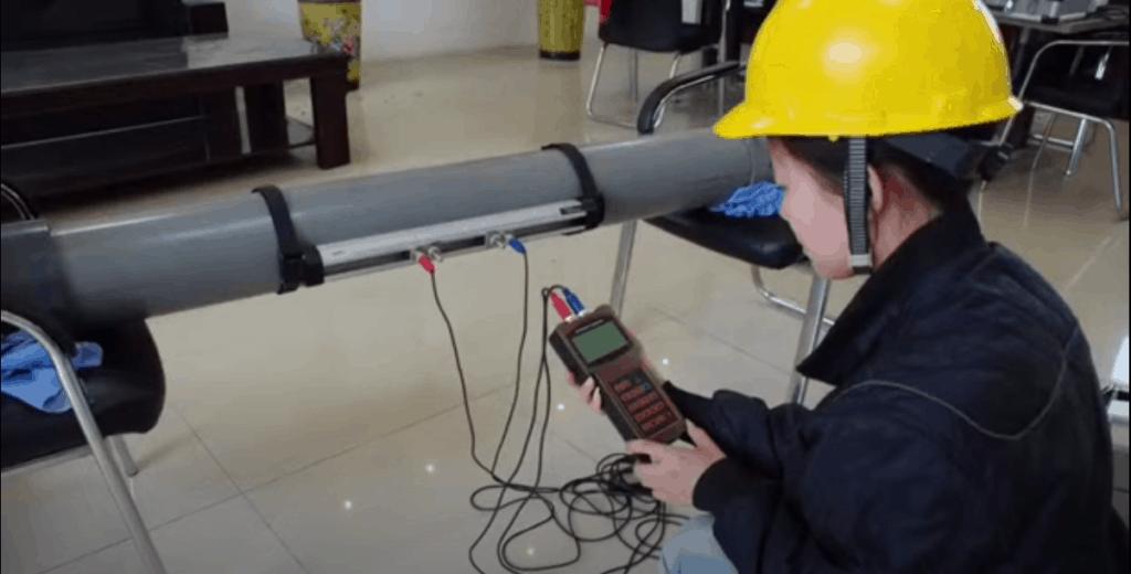 How to find leaks using ultrasonic water flow meter