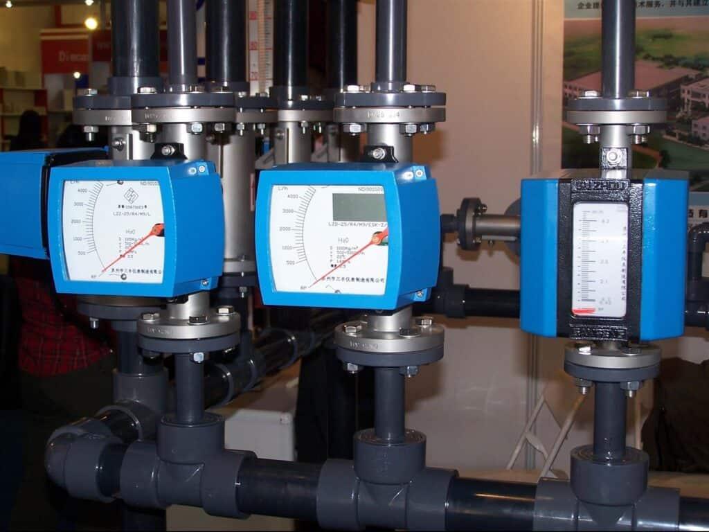 Metal rotor flowmeter