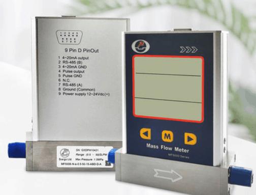 gas mass flow meter