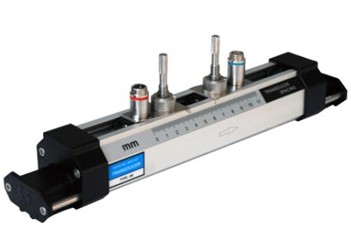 Bracket type ultrasonic flowmeter sensor