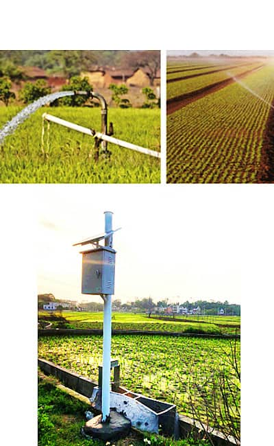 What is an irrigation flow meter?