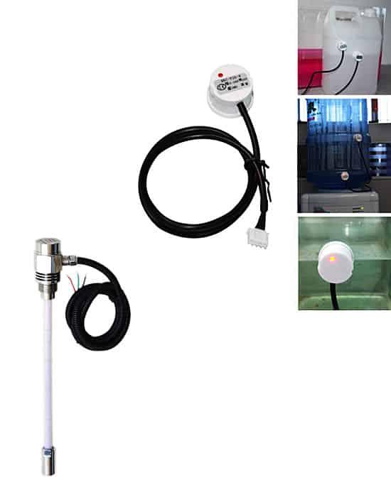 Capacitive water level sensor