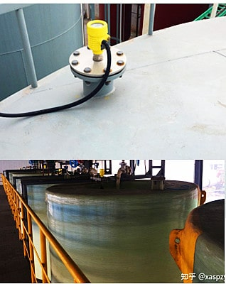 Level measurement of corrosive hazardous chemicals tank