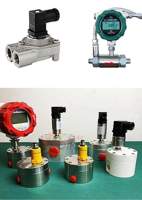 What is a low flow meter?