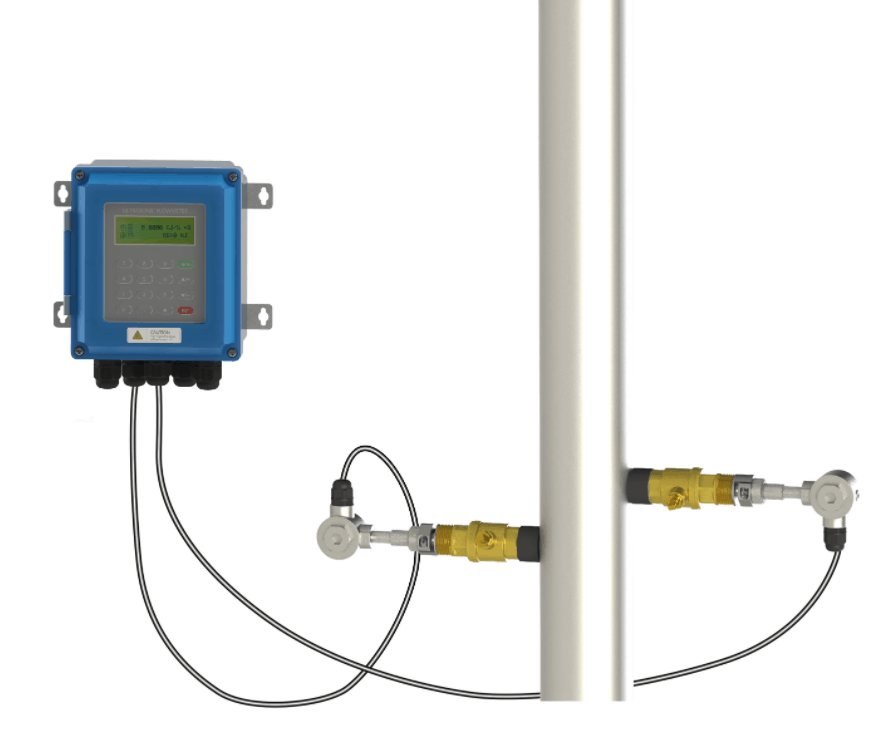 Ultrasonic Insertion Flow Meter for Lined/Large Pipes