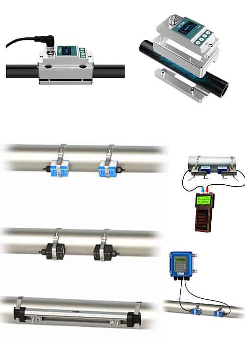 Strap on Ultrasonic Flow Meters